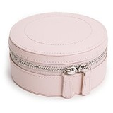 Wolf Шкатулка для украшений Sophia Round Mini Travel Zip Case Rose 392315, 1633294