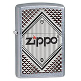 Zippo Red and Chrome 28465, 047654