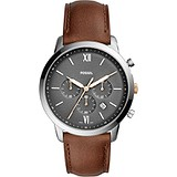 Fossil Мужские часы Dress Gent Chronograph FS5408