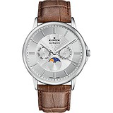 Edox Мужские часы Les Bemonts Moon Phase Complication 40002 3 AIN