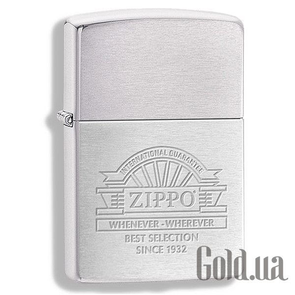 Купить Zippo 200 Whenever Whenever Brushed Chrome 266700