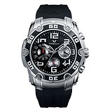 Viceroy Black Rubber Chronograph 432137-15