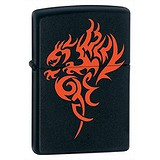 Zippo Зажигалка Hidden Dragon Matte 21067