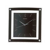 Seiko Настінний годинник black Square Quartz Wall clock  QXA330K, 017223