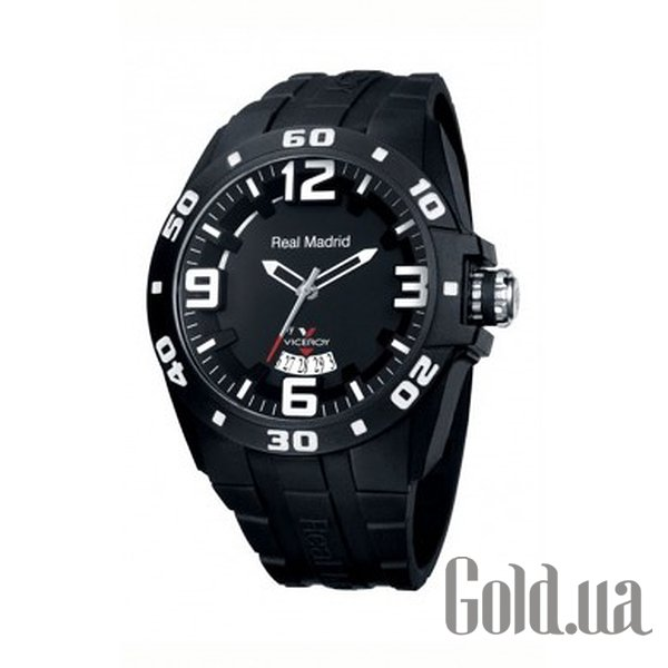 Купить Viceroy Real Madrid Black Rubber Date 432851-55