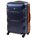 Rogal Чемодан RGL720L-dark-blue-orange, 1717330