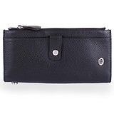 ST Leather Accessories Гаманець NST420-black