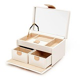 Wolf Шкатулка для украшений Chloe Small Box Cream 301153, 1526107