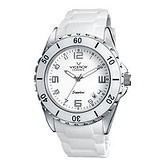 Viceroy White ceramic Date Rubber Watch 47564-05, 028000
