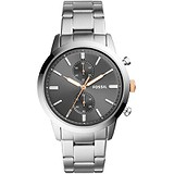 Fossil Мужские часы Dress Gent Chronograph FS5407