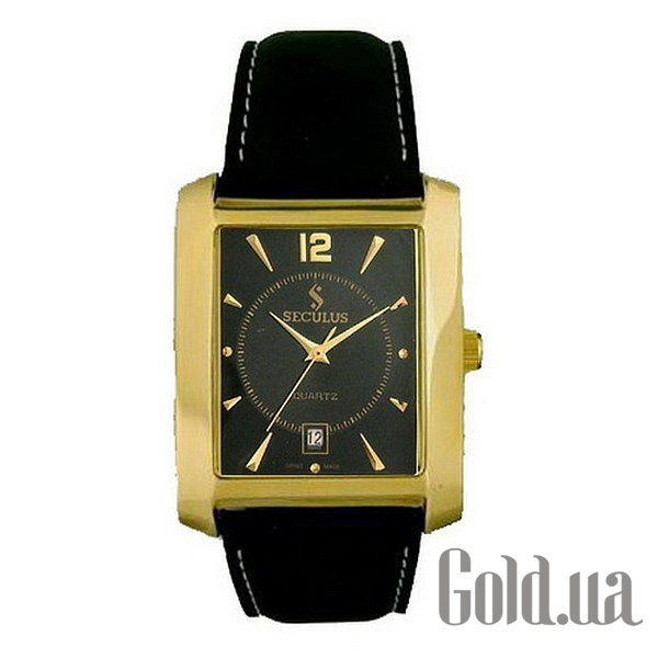 Купить Seculus 4419.1.505 black ap-g, pvd, black leather