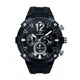 Viceroy Black Rubber Chronograph Watch 47633-55