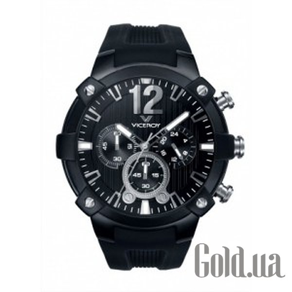 Купить Viceroy Black Rubber Chronograph Watch 47633-55