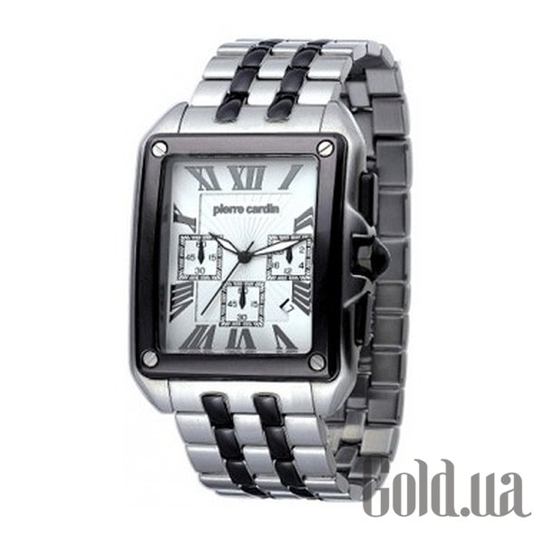 Купить Pierre Cardin Rectangle Homme Chrono PC100781F01