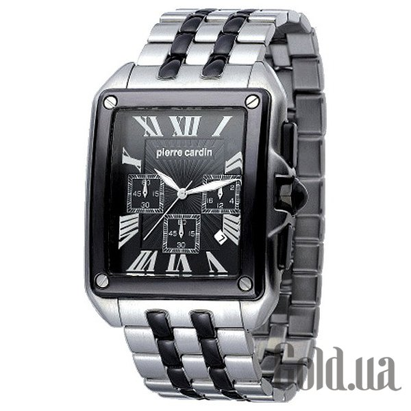 Купить Pierre Cardin Rectangle Homme Chrono PC100781F04