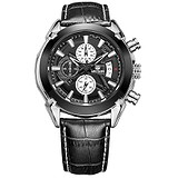 Megir Мужские часы Adventure Chrono Black MG2020