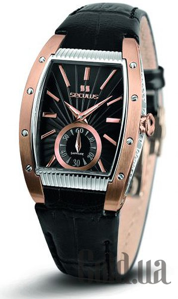 Купить Seculus 1667.2.1069 black, pvd-r, black leather