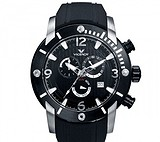 Viceroy Black Rubber Strap Chronograph 47681-55