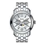 Bulova Classic Day Date Moonphase 63C13