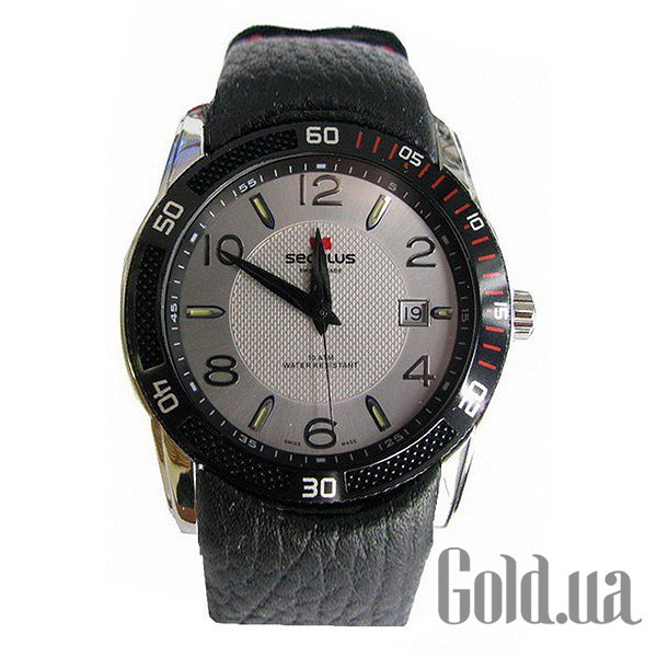 Купить Seculus 4487.2.715 white, ss tp-b red Tracks, black red leather (4487.2.715 white, ss tp-b red tracks, black red leather)