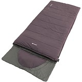 Outwell Спальний мішок Contour Reversible / + 2 ° C Dark Purple Right, 1749902