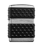 Zippo Зажигалка 200ZP BRUSH CHROME ZIP GUARD