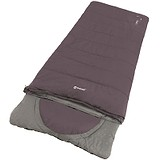 Outwell Спальний мішок Contour Reversible / + 2 ° C Dark Purple Left, 1749903