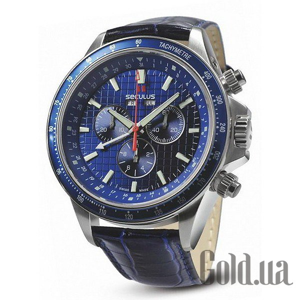 Купить Seculus Masterline 9531.2.504 blue. ss. blue leather