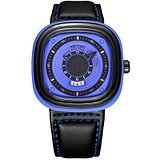 Megir Мужские часы Montre Sport Blue Black MG2027