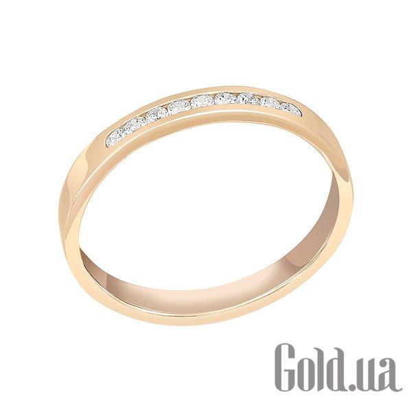 Золотое обручальное кольцо с бриллиантами, 17