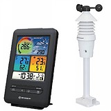 Bresser Метеостанція WIFI Colour 3-in-1 Wind Sensor Black, 1721258