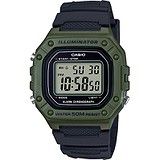 Casio Мужские часы Collection W-218H-3AVEF
