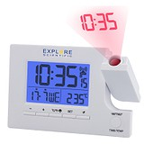 Explorer Проекційні годинники Scientific Slim Projection RC Dual Alarm White RDP1003GYELC2, 1746380