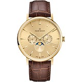 Claude Bernard Мужские часы Slim Line Moon Phase 40004 37J DI, 1629906