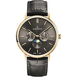 Claude Bernard Мужские часы Slim Line Moon Phase 40004 37J GID