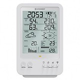 Bresser Метеостанція Weather Center 5-in-1 White, 1693141