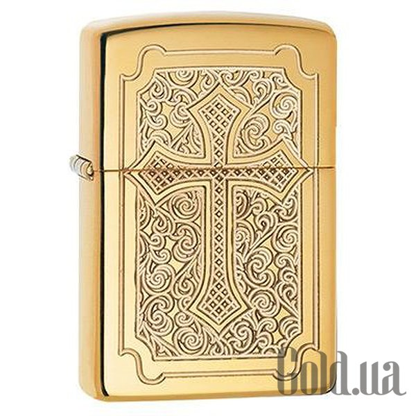 Купить Zippo Зажигалка Armor High Polish Brass 29436 (zip29436)