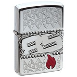Zippo Зажигалка Armor Facet High Polish Chrome 29442, 1528538