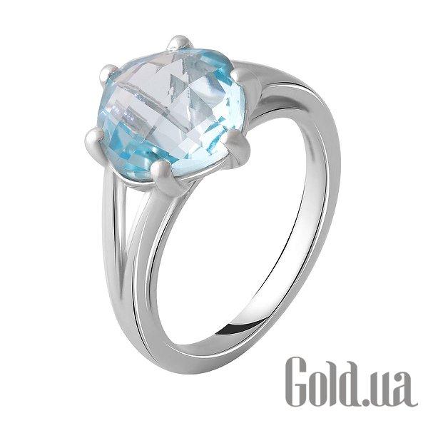 Женское серебряное кольцо с топазом, 17