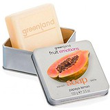 Greenland Мыло Fruit Emotions papaya - lemon 100г FE141, 881639