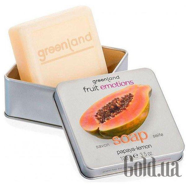 Купити Greenland Мило Fruit Emotions papaya - lemon 100г FE141