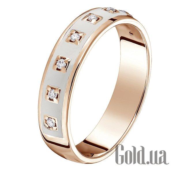 a1d2928ef575 Золотое обручальное кольцо с бриллиантами и эмалью (код 1535468)