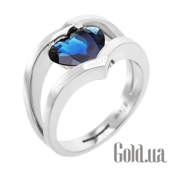 Золотое кольцо с корундом, 17